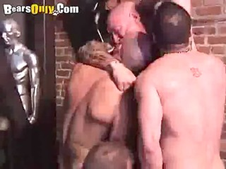 sexy homosexual dad orgy