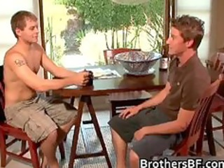 brothers sexy boyfriend acquires cock sucked