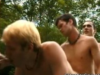 hot homo groupsex outdoors