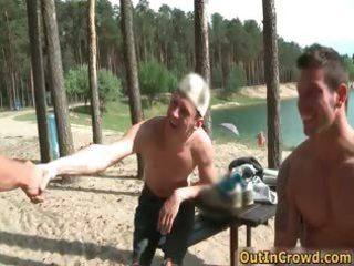 great outdoor scene with hawt gay part11